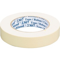 General-purpose masking tape is ideally suited for holding, bundling, sealing, general paint masking and other jobs where a pressure-sensitive tape is required. Rubber adhesive sticks instantly to most surfaces and offers good holding power to help resist lifting or curling. Crepe paper backing conforms over irregular surfaces and around corners. Crepe paper backing resists bleed-through of most paint systems and removes cleanly in one piece.