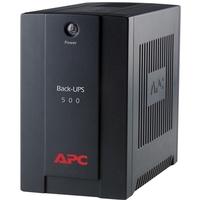 APC Back-UPS Line-interactive UPS - 500 VA/300 W - 1 Minute - 230 V AC - 3 x IEC 60320 C13, 1 x IEC Jumper