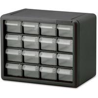 Image of Akro-Mils 16-Drawer Plastic Storage Cabinet Office Supplies AKM10116 Akro-Mils
