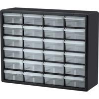 Akro Mils 24 Drawer Plastic Storage Cabinet AKM10124