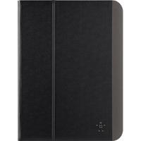 "Belkin Slim Style Carrying Case (Folio) for 25.7 cm (10.1"") Tablet - Blacktop - Scratch Resistant - Polycarbonate"