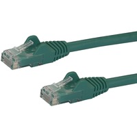 StarTech.com 1m Green Gigabit Snagless RJ45 UTP Cat6 Patch Cable - 1 m Patch Cord - 1 x RJ-45 Male Network - 1 x RJ-45 Male Network - Patch Cable - Gold-plated Conta