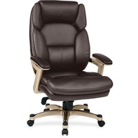 ba01934e9 OSP Designs Eco Leather Chair WPadded Arms And Coated Base