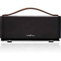 Veho Retro M6 Speaker System - 6 W RMS - Wireless Speaker(s) - Gunmetal