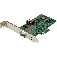 StarTech.com PCI Express Gigabit Ethernet Fiber Network Card w/ Open SFP - PCIe SFP Network Card Adapter NIC - PCI Express x1 - 1 Port(s)