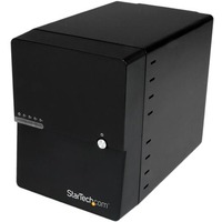 StarTech.com USB 3.0 / eSATA 4-Bay 3.5in SATA III Hard Drive Enclosure w/ built-in HDD Fan & UASP