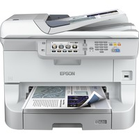 Epson WorkForce Pro WF-8510DWF Inkjet Multifunction Printer - Colour - Plain Paper Print - Desktop