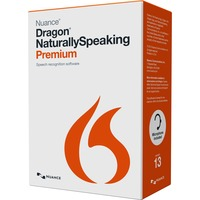 Nuance Dragon NaturallySpeaking v.13.0 Premium With Headset - 1 User - Voice Recognition - Box - DVD-ROM - PC - English