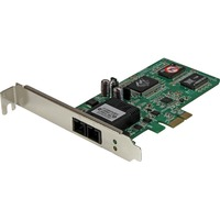StarTech.com PCI Express (PCIe) Gigabit Ethernet Multimode SC Fiber Network Card Adapter NIC - 550m - PCI Express x1 - 1 Port(s) - 1 x SC Port(s) - Optical Fiber