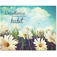 Advantus Excellence Motivational Canvas Print AVT78093
