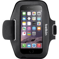Belkin Sport-Fit Carrying Case (Armband) for iPhone - Blacktop, Overcast - Neoprene