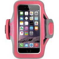 Belkin Slim-Fit Plus Carrying Case (Armband) for iPhone - Fuchsia - Neoprene, Fabric - Armband