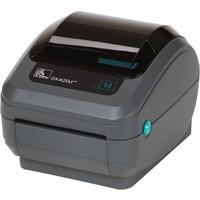 Zebra GK420t Direct Thermal/Thermal Transfer Printer - Monochrome - Desktop - Label Print