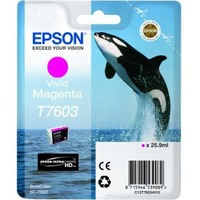 Epson UltraChrome T7603 Ink Cartridge - Vivid Magenta