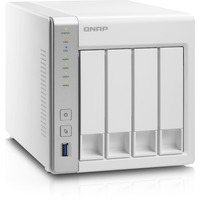QNAP Turbo NAS TS-431 4 x Total Bays NAS Server - Tower - 1 x Freescale Cortex A9 Dual-core (2 Core) 1.20 GHz - 512 MB RAM - Serial ATA/600 - RAID Supported 0, 1, 5,