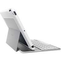 Belkin QODE Ultimate Keyboard/Cover Case (Folio) for iPad, iPad Air - White