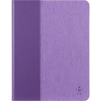 "Belkin Chambray Carrying Case (Folio) for 25.4 cm (10"") iPad Air - Purple"