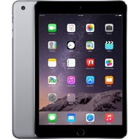 "Apple iPad mini 3 MH3E2B/A 16 GB Tablet - 20.1 cm (7.9"") - Retina Display, In-plane Switching (IPS) Technology - Wireless LAN - Apple - 4G - Apple A7 - Space Gray"