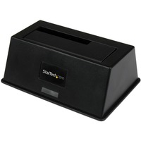 "StarTech.com eSATA / USB 3.0 SATA III Hard Drive Docking Station SSD / HDD with UASP - 1 x HDD Supported - 1 x SSD Supported - 1 x Total Bay - 1 x 2.5""/3.5"" Bay - Se"