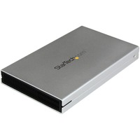 StarTech.com eSATAp / eSATA or USB 3.0 External 2.5in SATA III 6 Gbps Hard Drive Enclosure with UASP