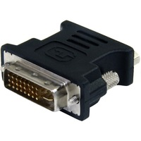 StarTech.com DVI to VGA Cable Adapter M/F - Black - 10 Pack - 1 x DVI-I Male Video - 1 x HD-15 Female VGA