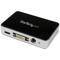 StarTech.com USB 3.0 Video Capture Device - HDMI / DVI / VGA / Component HD Video Recorder - 1080p 60fps - Functions: Video Conversion, Video Encoding - USB 3.0 - 19