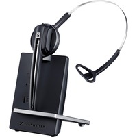Sennheiser D 10 USB ML Wireless DECT CAT-iq Mono Headset - Over-the-head, Over-the-ear - Supra-aural