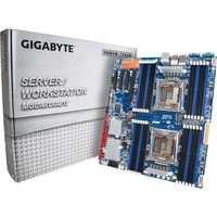 Gigabyte MD80-TM0 Server Motherboard - Intel C612 Chipset - Socket LGA 2011-v3 - Extended ATX - 2 x Processor Support - 64 GB DDR4 SDRAM Maximum RAM - 1.87 GHz, 2.13