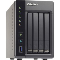 QNAP Turbo NAS TS-453S Pro 4 x Total Bays NAS Server - Tower - Intel Celeron Quad-core (4 Core) 2 GHz - 4 GB RAM DDR3L SDRAM - Serial ATA/600 - RAID Supported 0, 1,