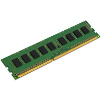 Kingston ValueRAM RAM Module - 4 GB - DDR3L SDRAM - 1600 MHz DDR3-1600/PC3-12800 - 1.50 V - ECC - Unbuffered - CL11 - 240-pin - DIMM