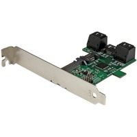 StarTech.com Port multiplier controller card - 5-port SATA to single SATA III - 5 x 7-pin Serial ATA/600 Serial ATA, 1 x 22-pin Serial ATA/600 Serial ATA - Serial AT