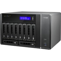 QNAP TVS-EC1080+-E3-32G 10 x Total Bays NAS Server - Tower - Intel Xeon E3-1245 v3 Quad-core (4 Core) 3.40 GHz - 8 GB RAM DDR3 SDRAM - Serial ATA/600 - RAID Supporte