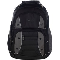 "Targus Drifter TSB84404EU Carrying Case (Backpack) for 43.2 cm (17"") Notebook - Black, Grey - Shoulder Strap"