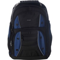 "Targus Drifter TSB84302EU Carrying Case (Backpack) for 40.6 cm (16"") Notebook - Black, Blue - Shoulder Strap"