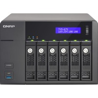 QNAP Turbo vNAS TVS-671 6 x Total Bays NAS Server - Tower - Intel Core i5 i5-4590S Quad-core (4 Core) 3 GHz