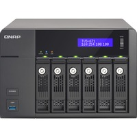 QNAP Turbo vNAS TVS-671 6 x Total Bays NAS Server - Tower - Intel Core i3 i3-4150 Dual-core 2 Core 3.50 GHz