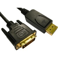 Cables Direct 5 m DisplayPort/DVI-D A/V Cable for Monitor