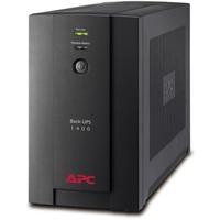 APC Back-UPS Line-interactive UPS - 1400 VA/700 WTower - 8 Hour - 230 V AC - 230 V AC - 6 x IEC 60320 C13