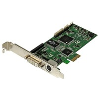 StarTech.com High-definition PCIe capture card - HDMI VGA DVI & component - 1080P at 60 FPS - Functions: Video Capturing - PCI Express x1 - 1920 x 1080 - MPEG-4, H.2