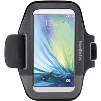 Belkin Sport-Fit Carrying Case (Armband) for Smartphone - Black/Grey - Neoprene - Armband