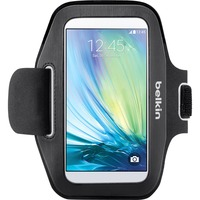 Belkin Sport-Fit Carrying Case (Armband) for Smartphone - Black - Sweat Resistant - Neoprene - Armband