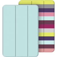 Belkin Carrying Case for iPad mini, iPad mini 2, iPad mini 3 - Blue, Green - Scratch Resistant - Multicolor Stripe