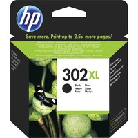 HP 302XL Original Ink Cartridge - Black - Inkjet - High Yield - 480 Pages (Per Cartridge) - 1 Pack