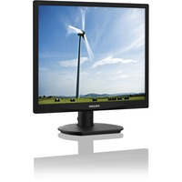 "Philips S-line 19S4QAB 48.3 cm (19"") LED LCD Monitor - 5:4 - 5 ms - 1280 x 1024 - 16.7 Million Colours- VGA"