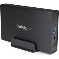 StarTech.com USB 3.1 10Gbps Enclosure for 3.5inch SATA Drives - Supports SATA 6 Gbps - 1 x Total Bay - 1 x 3.5inch Bay - UASP Support - Serial ATA/600 - USB 3.1 - Alumin