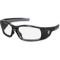 Crews Swagger Black Frame Safety Glasses crwsr110