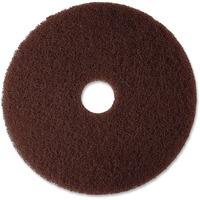 3M Brown Stripping Floor Pad MMM08448