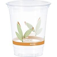 Solo Bare Eco-Forward RPET Clear Cold Cups rtp12bare