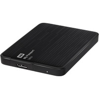 "WD My Passport Ultra WDBGPU0010BBK 1 TB 2.5"" External Hard Drive - USB 3.0 - Portable - Black - 256-bit Encryption Standard"