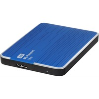 "WD My Passport Ultra WDBGPU0010BBL 1 TB 2.5"" External Hard Drive - USB 3.0 - Portable - Blue"